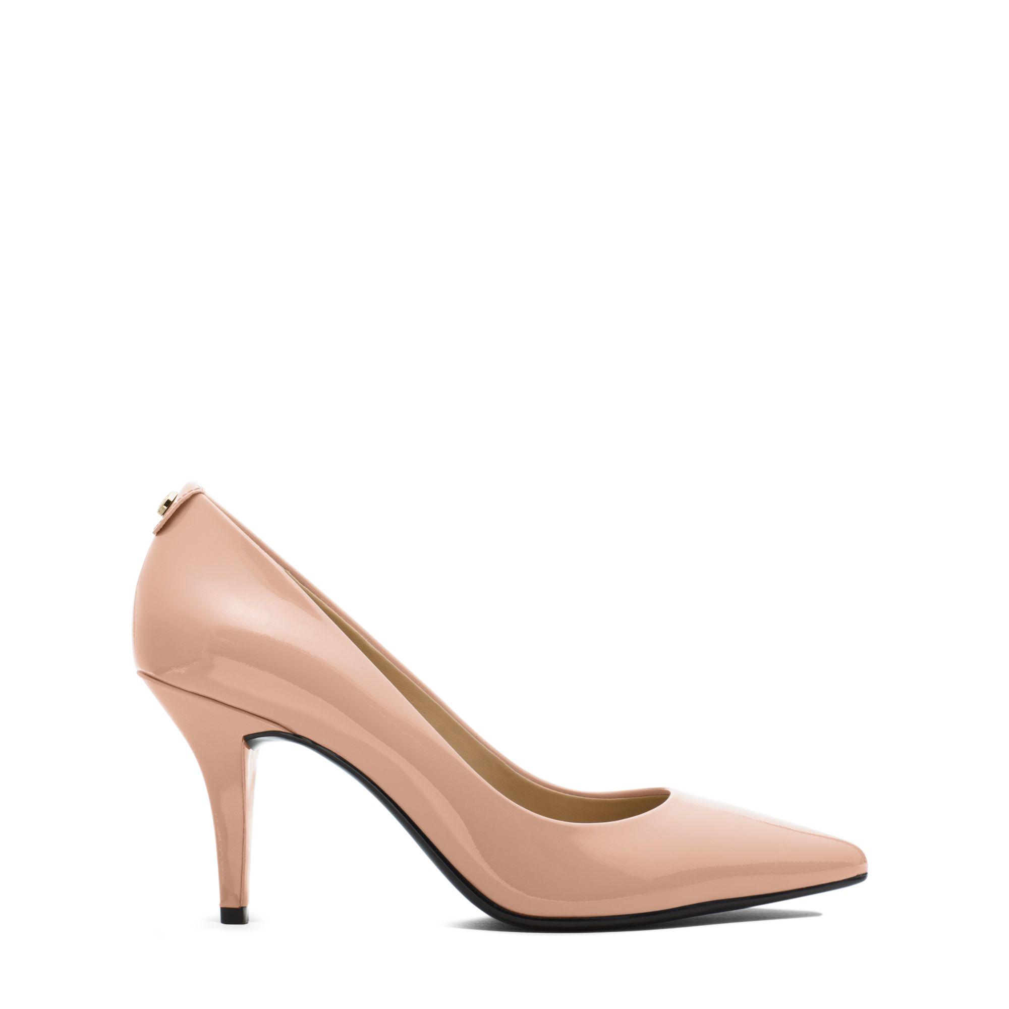 kors pink heels