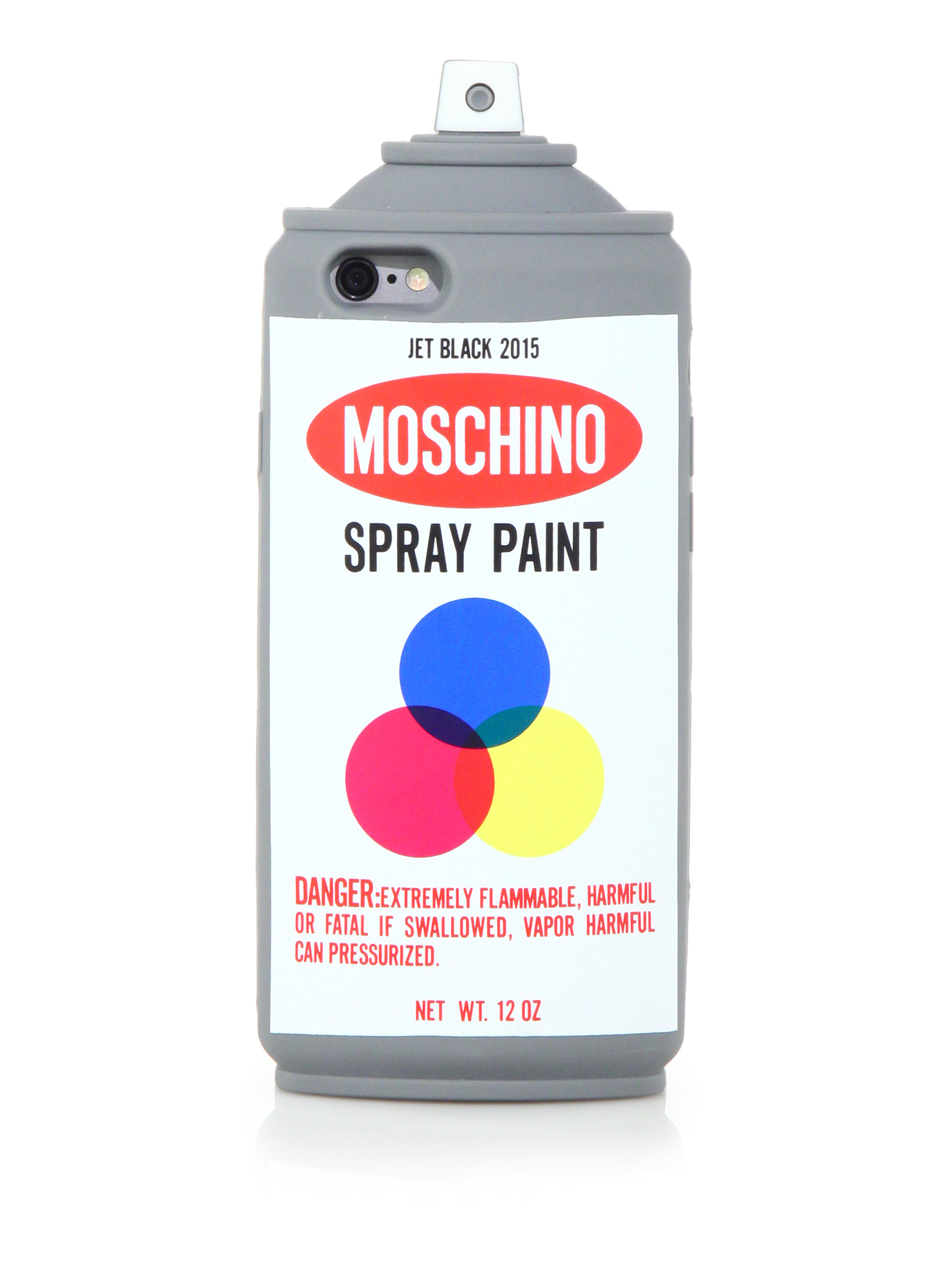 Moschino spray can iphone 6 case lyst for Spray paint phone case