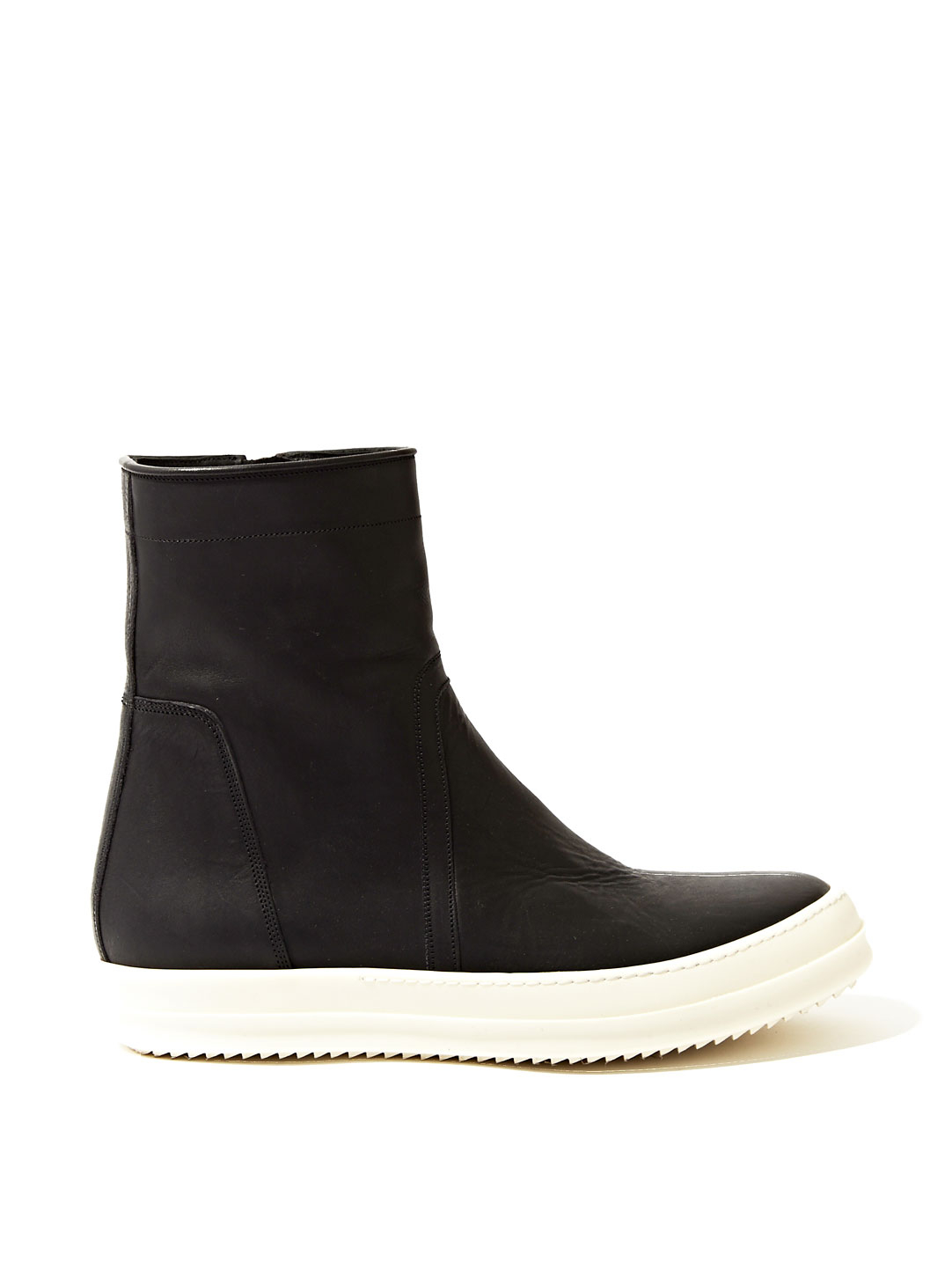rick owens s vicious ankle boot in black for lyst