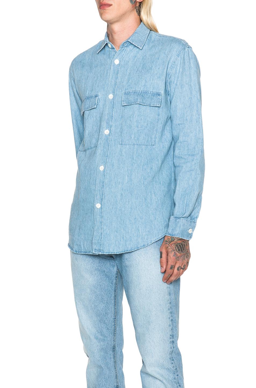 denim shirt pockets - photo #8