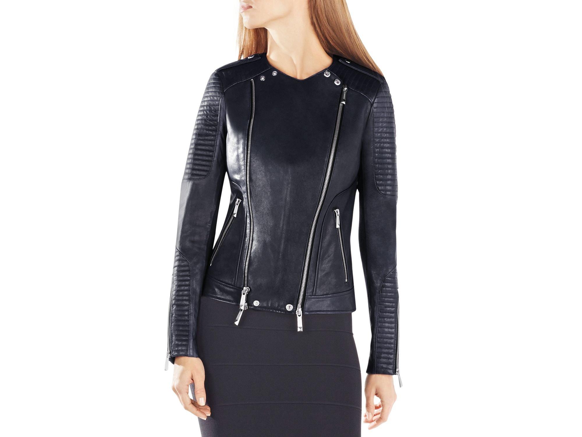Bcbg max azria leather jacket