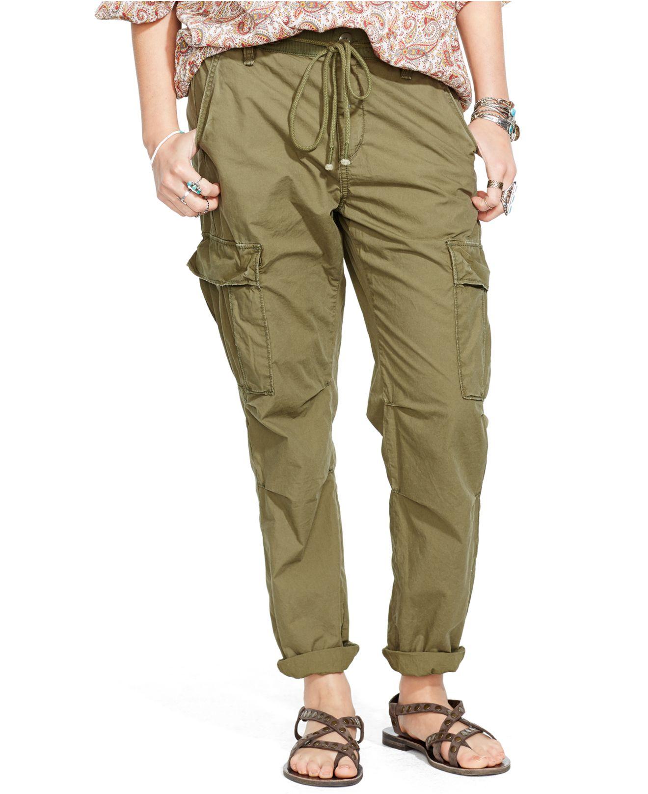 Denim & supply ralph lauren Cargo Pants in Green | Lyst