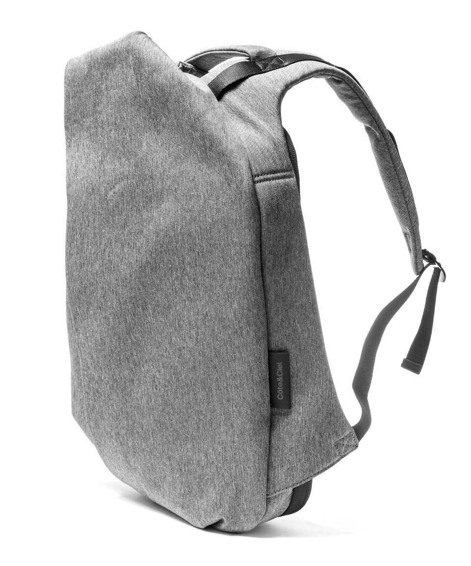 Isar medium backpack - Grey Côte & Ciel 6xfAYIb9cc