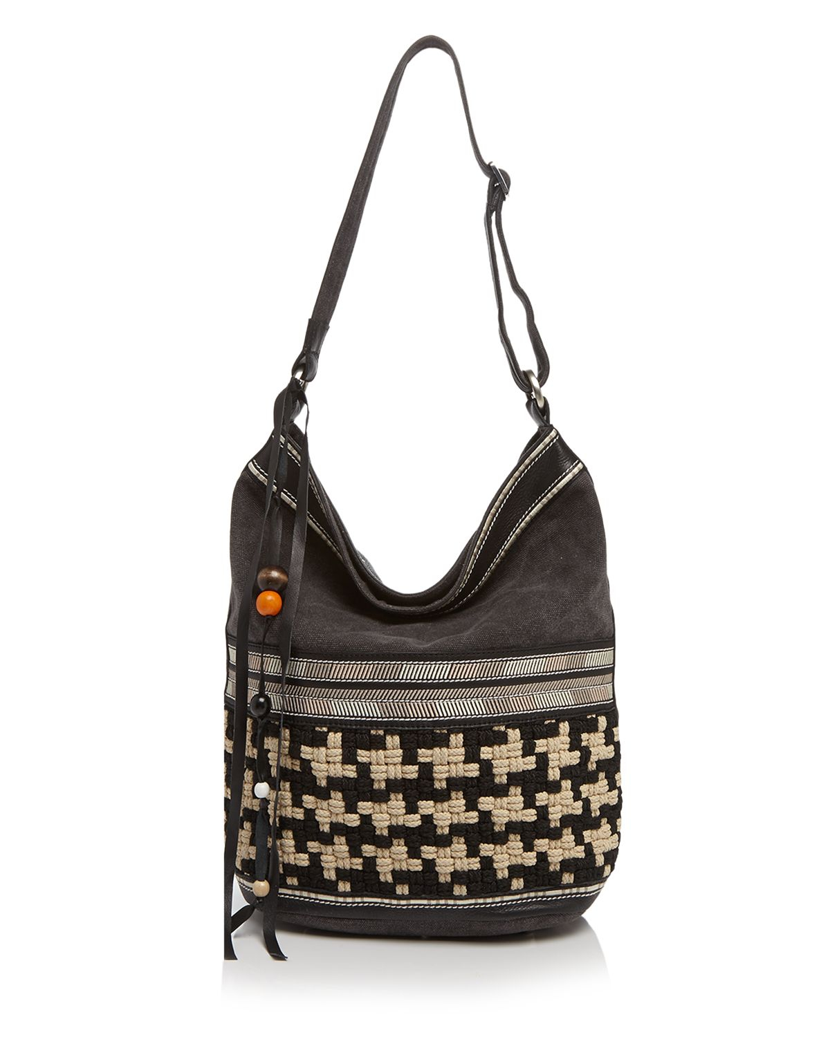 toms shoulder bag wanderer woven embroidered in
