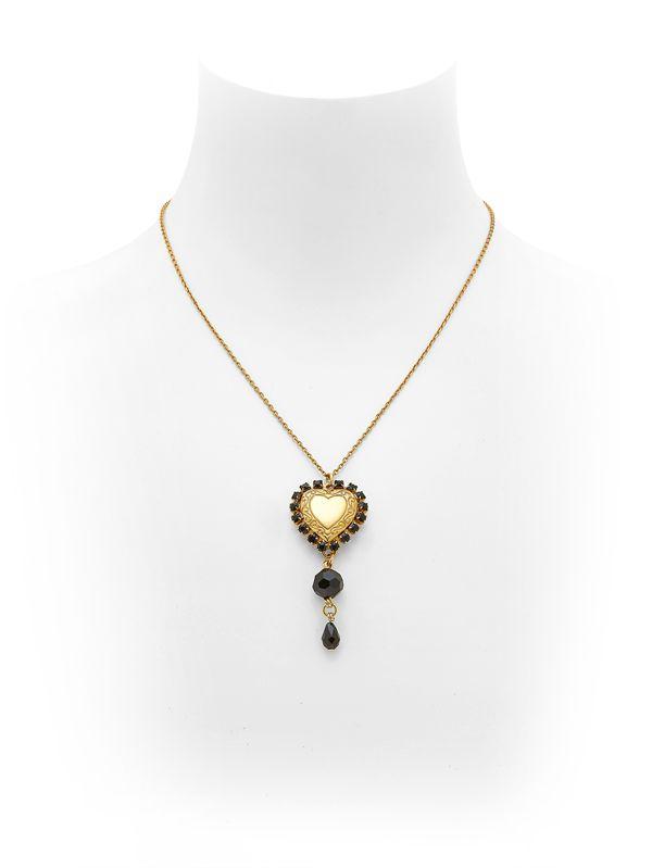 Dolce & Gabbana embellished pendant necklace - Metallic LTFWjl