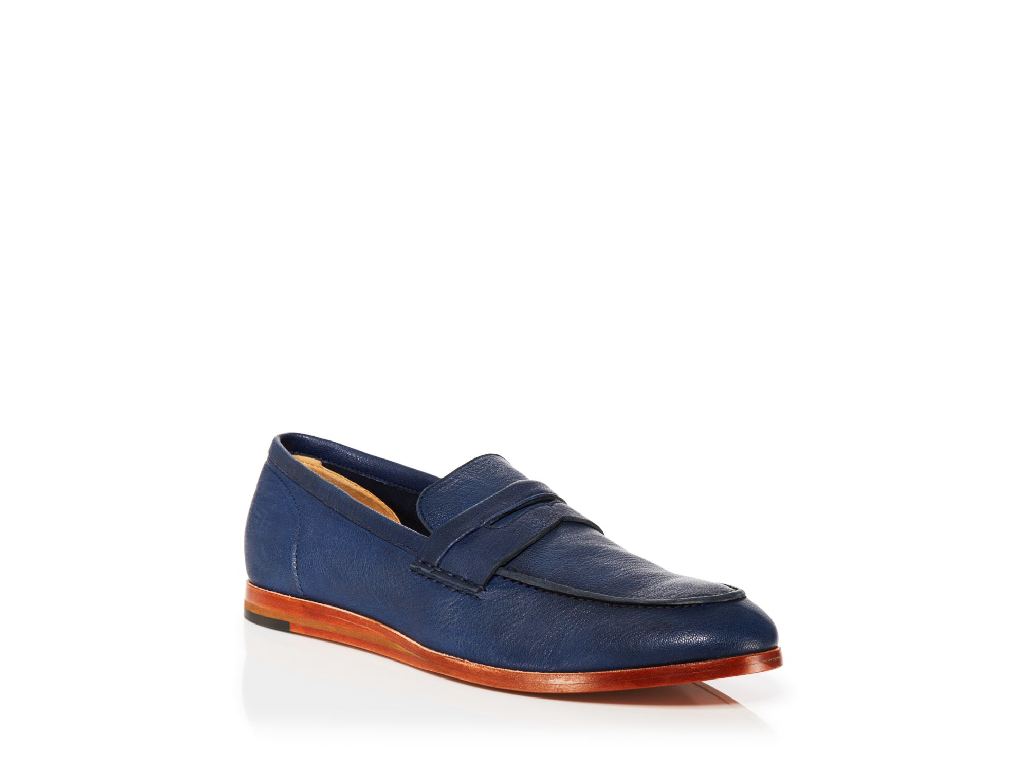 8f2a2269016 Lyst - Cole Haan Bedford Penny Loafers in Blue for Men