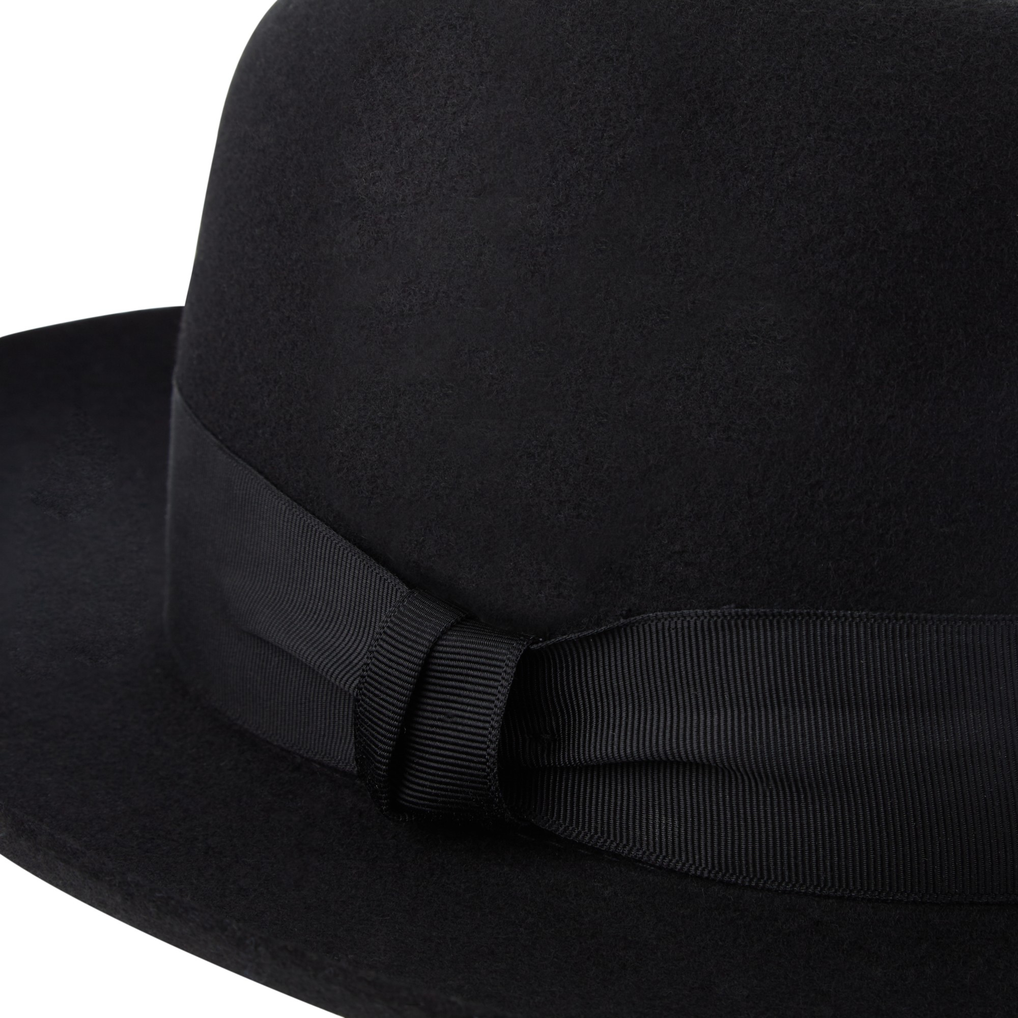 15603044467 Christys  Grosvenor Wool Felt Wide Brim Fedora Hat in Black for Men ...