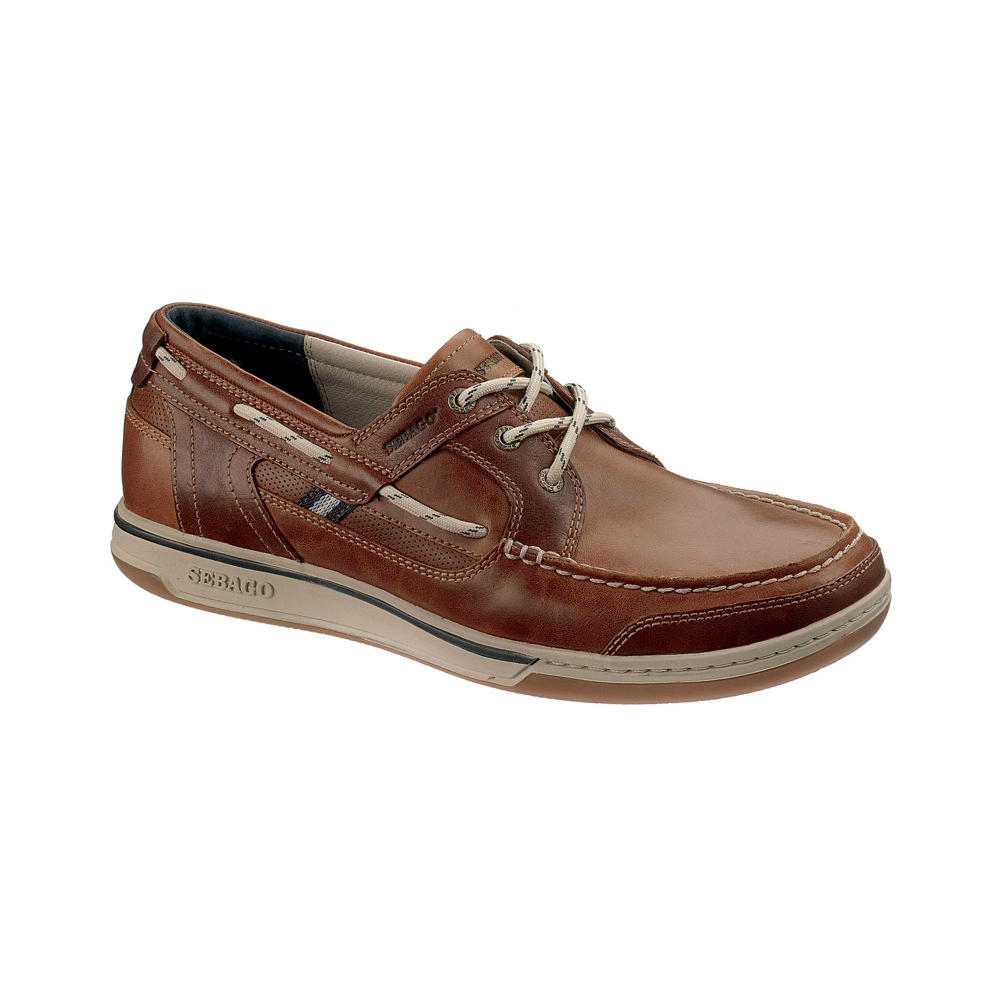 River Island Mens Leather Deck Shoes