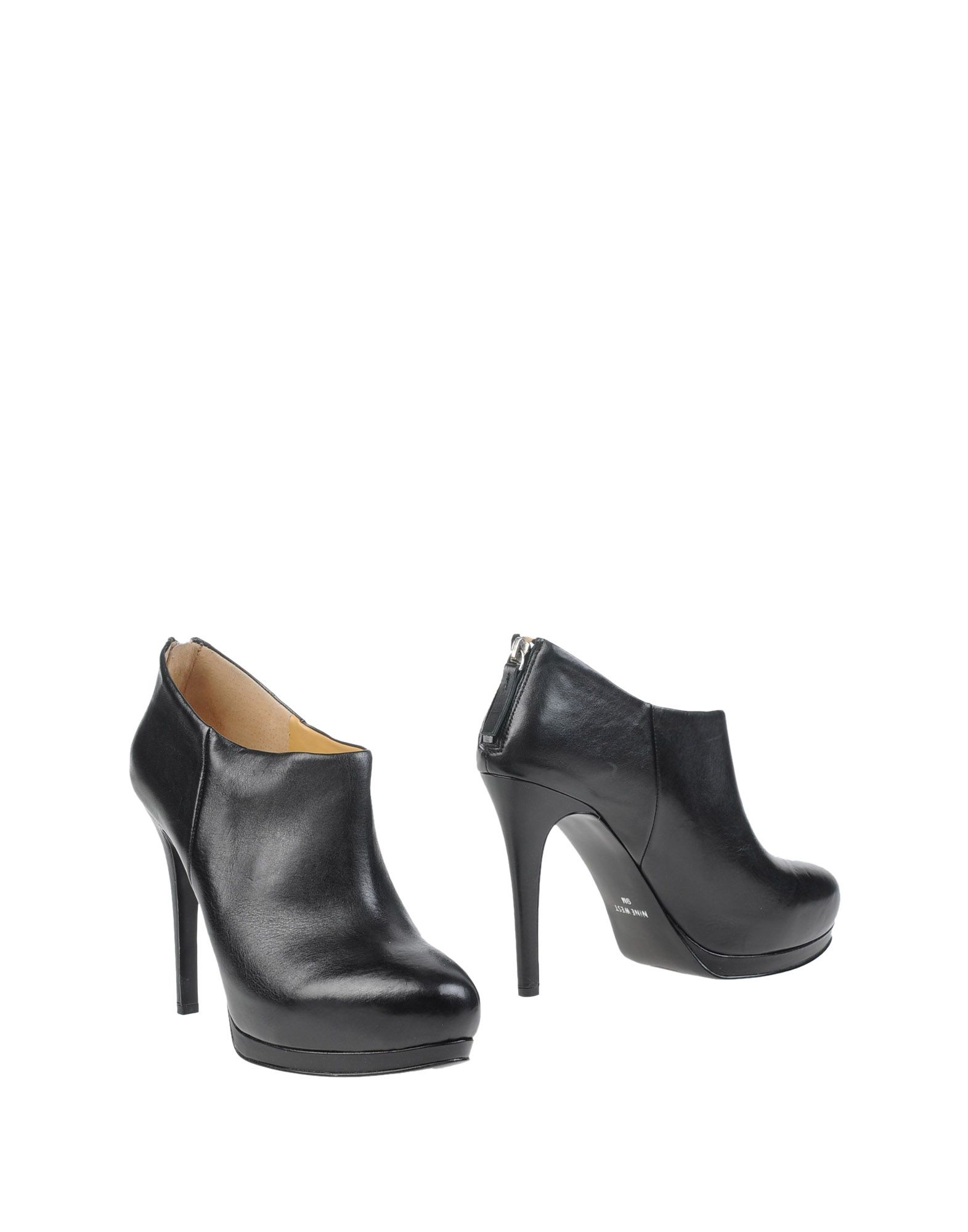 nine west shoe boots in black lyst