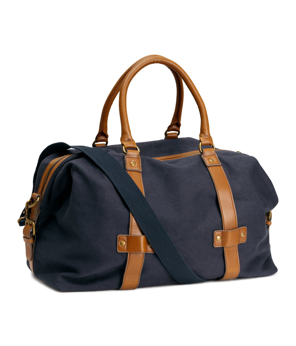 H&m Weekend Bag in Blue for Men | Lyst