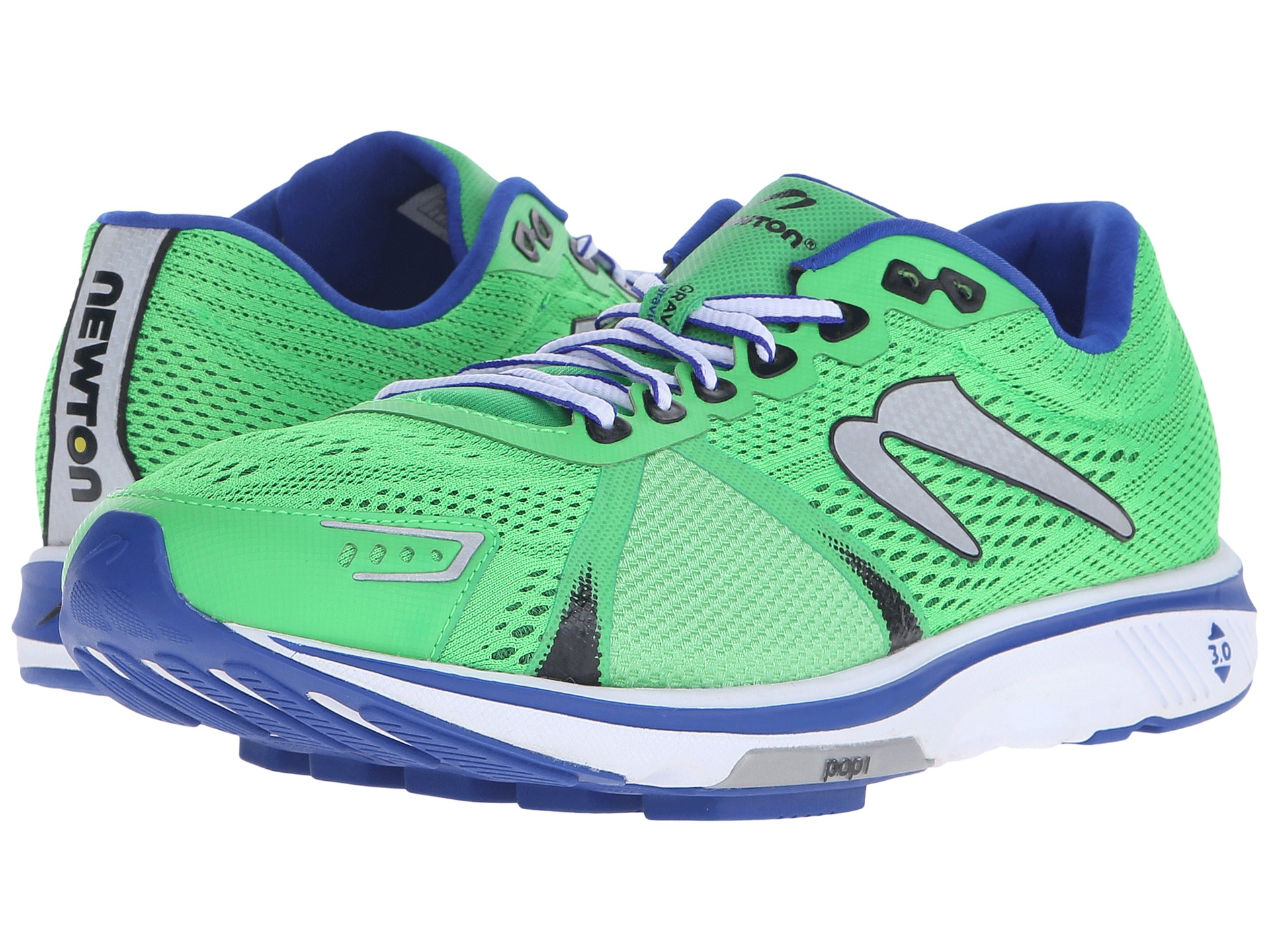 Men's Newton Running Gravity V Men's Running Shoes Green/Blue