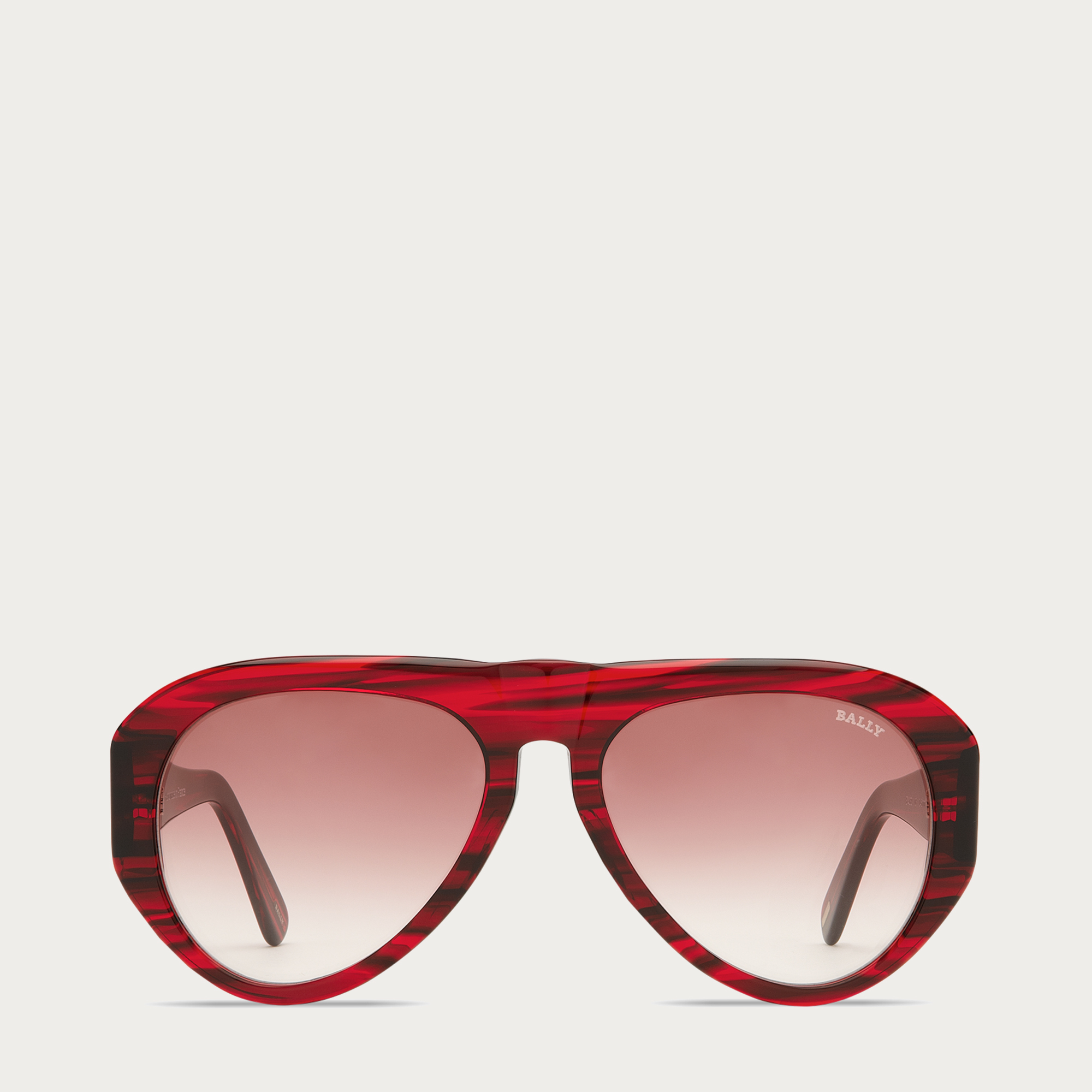 ba774d4334 Lyst - Bally Aviator Sunglasses in Red for Men