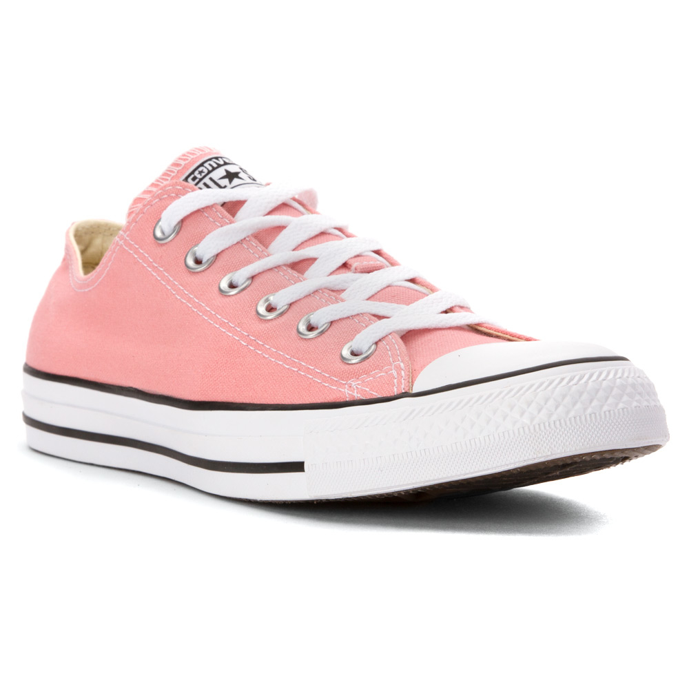 e4a5dda0d4c099 Lyst - Converse Chuck Taylor All Star Low Top Sneaker in Pink