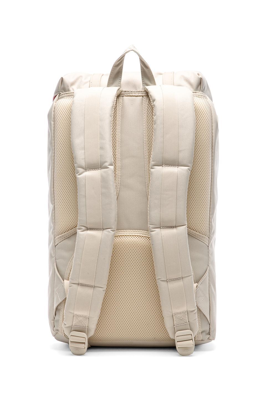 herschel supply co little america backpack in natural for men lyst. Black Bedroom Furniture Sets. Home Design Ideas