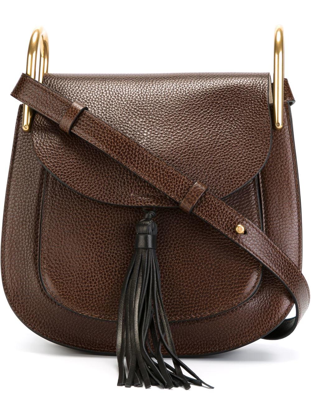 Chlo¨¦ \u0026#39;hudson\u0026#39; Shoulder Bag in Brown | Lyst