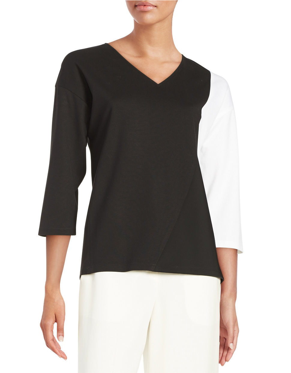 148 Best Images About Craft Ideas For Girls On Pinterest: Lafayette 148 New York Lightweight Monochrome Top
