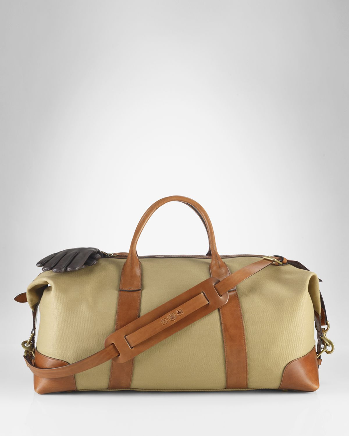 6ffff98cfd34 Lyst - Ralph Lauren Polo Canvas Duffle Bag in Natural for Men