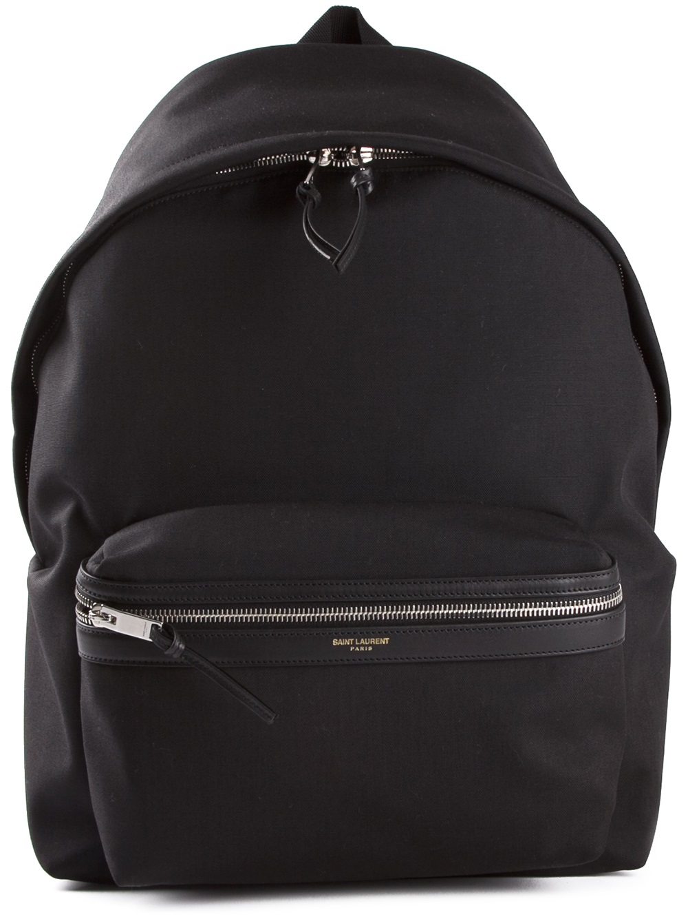 Lyst Saint Laurent Classic Backpack In Black For Men