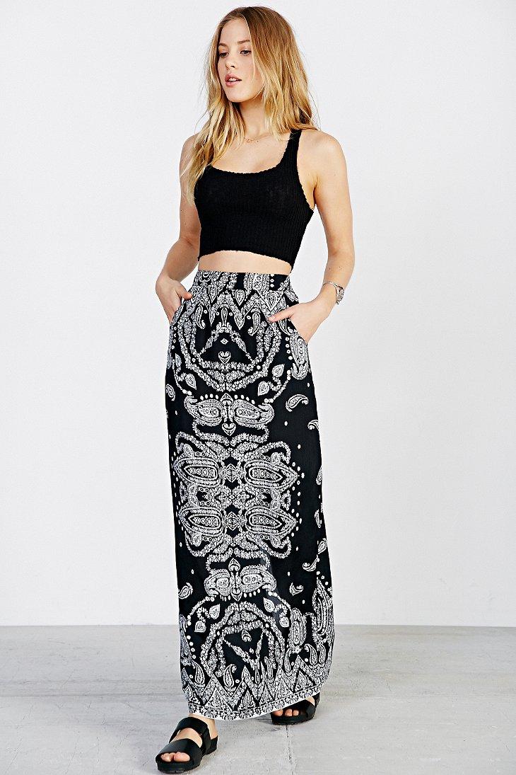 Straight Maxi Skirt - Skirts