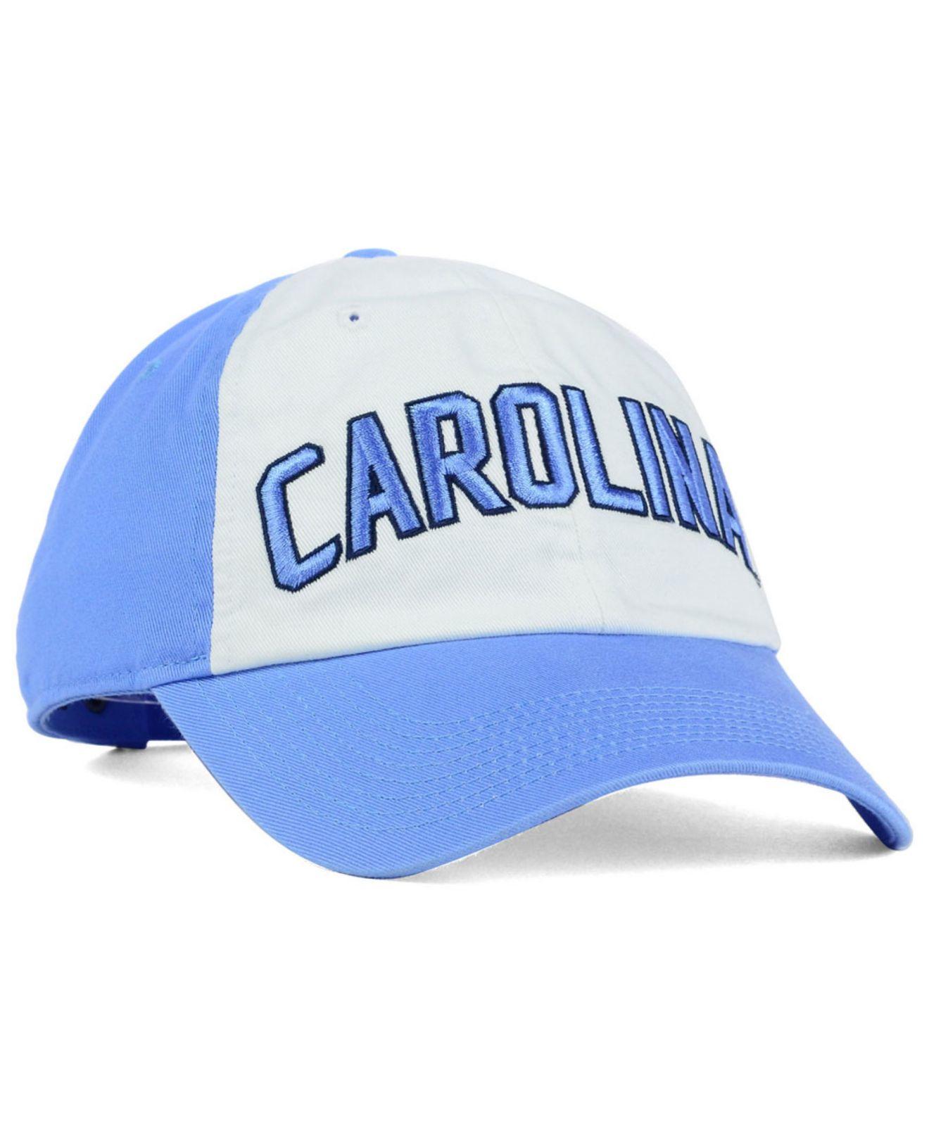 sale retailer 750a8 e8e38 Nike North Carolina Tar Heels Heritage 86 Wordmark Cap in Blue for ...