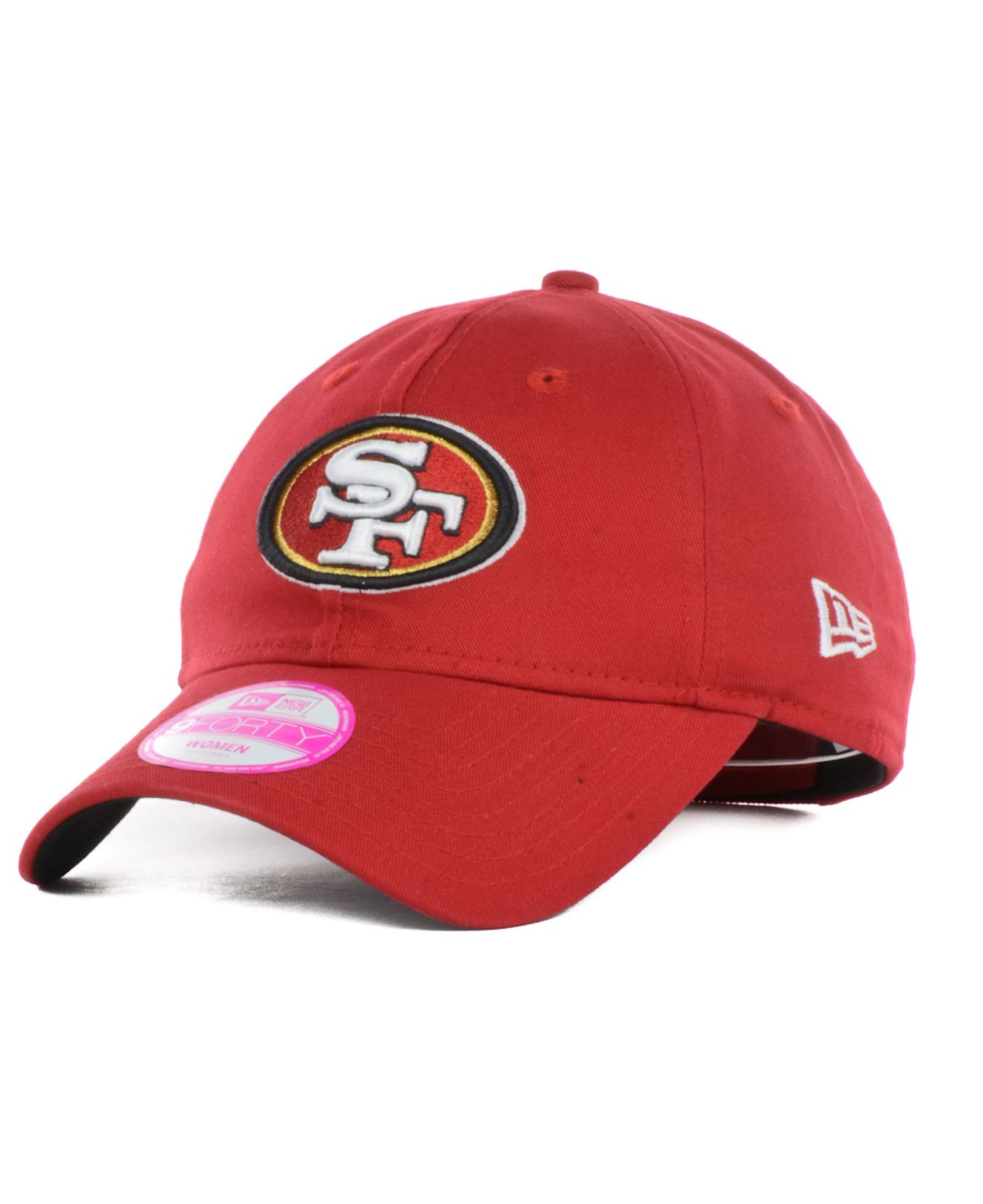 the latest c4516 1491e Lyst - KTZ Women S San Francisco 49Ers Sideline 9Forty Cap in Red