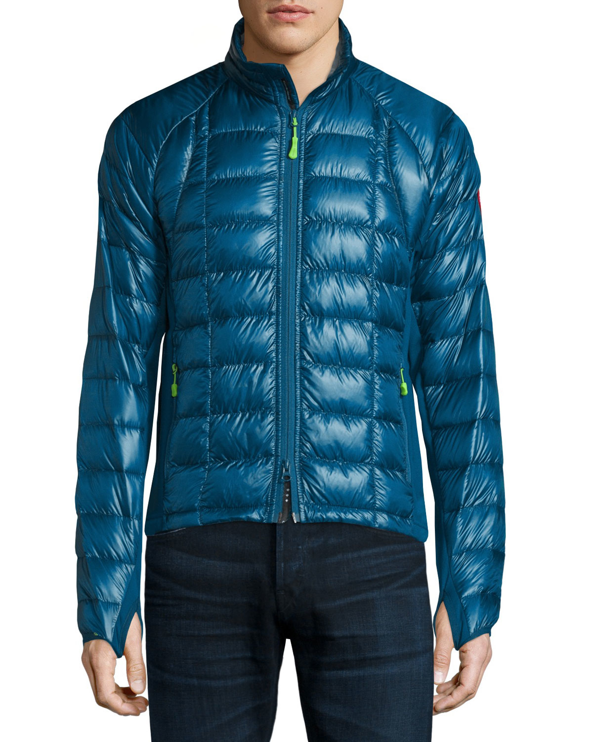 Canada goose Hybridge Lite Jacket in Blue for Men | Lyst - photo#20