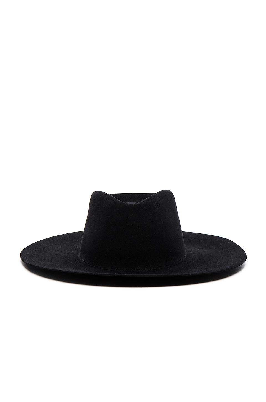 Lyst - Off-White c o Virgil Abloh Wide Brim Hat in Black for Men 375a85b2719