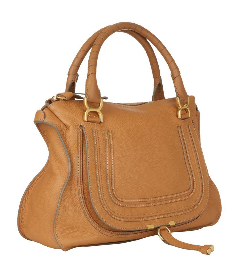 Chloé Medium Marcie Shoulder Bag in Brown - Lyst 628e887849dd5