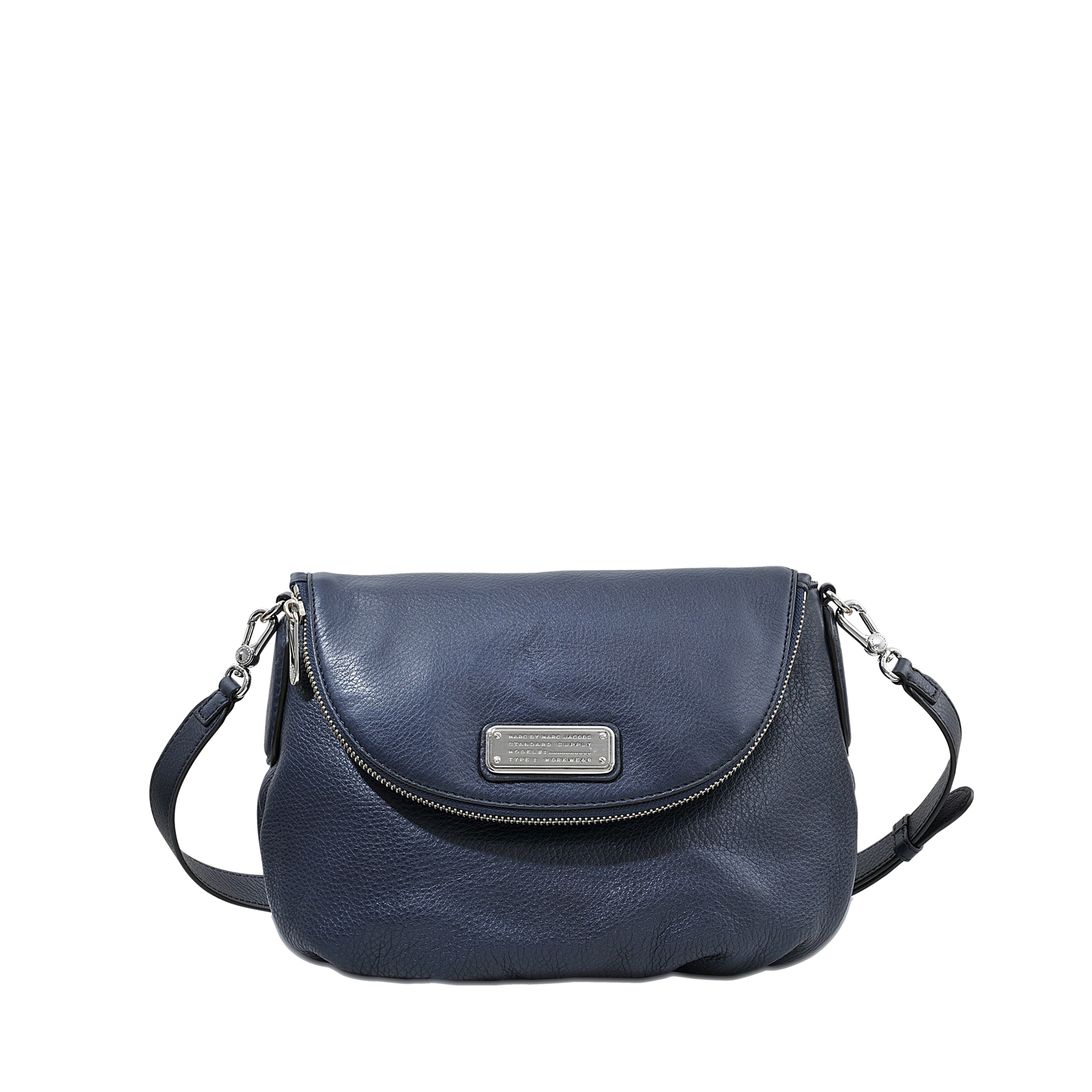 lyst marc by marc jacobs new q natasha bag in blue. Black Bedroom Furniture Sets. Home Design Ideas