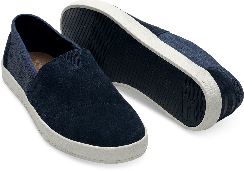 TOMS Suede Slip-On Sneaker X0DGkrTU0