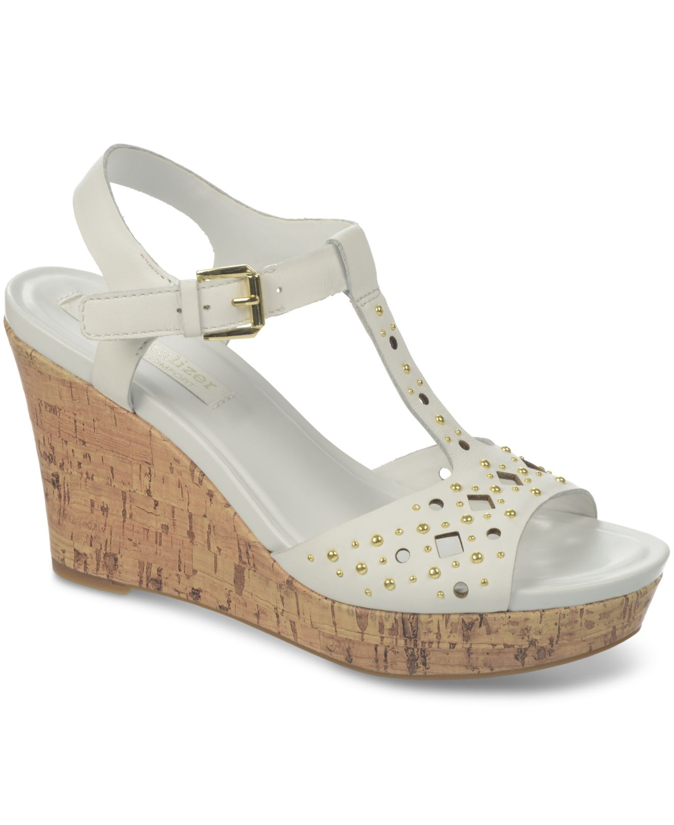Womens Sandals Naturalizer Riley White