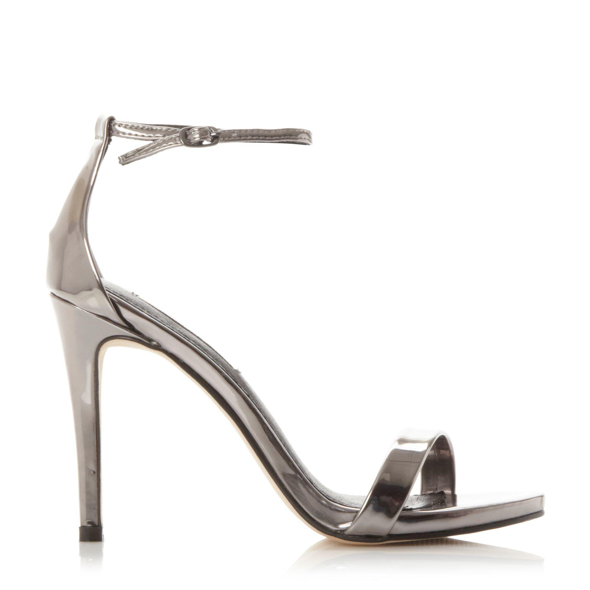 Metallic Court Shoes Uk