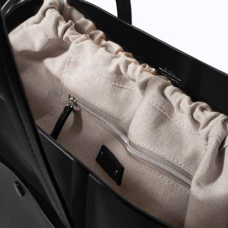 Zara Shopper Bag With Pocket Zara Tote Bag With Pocket
