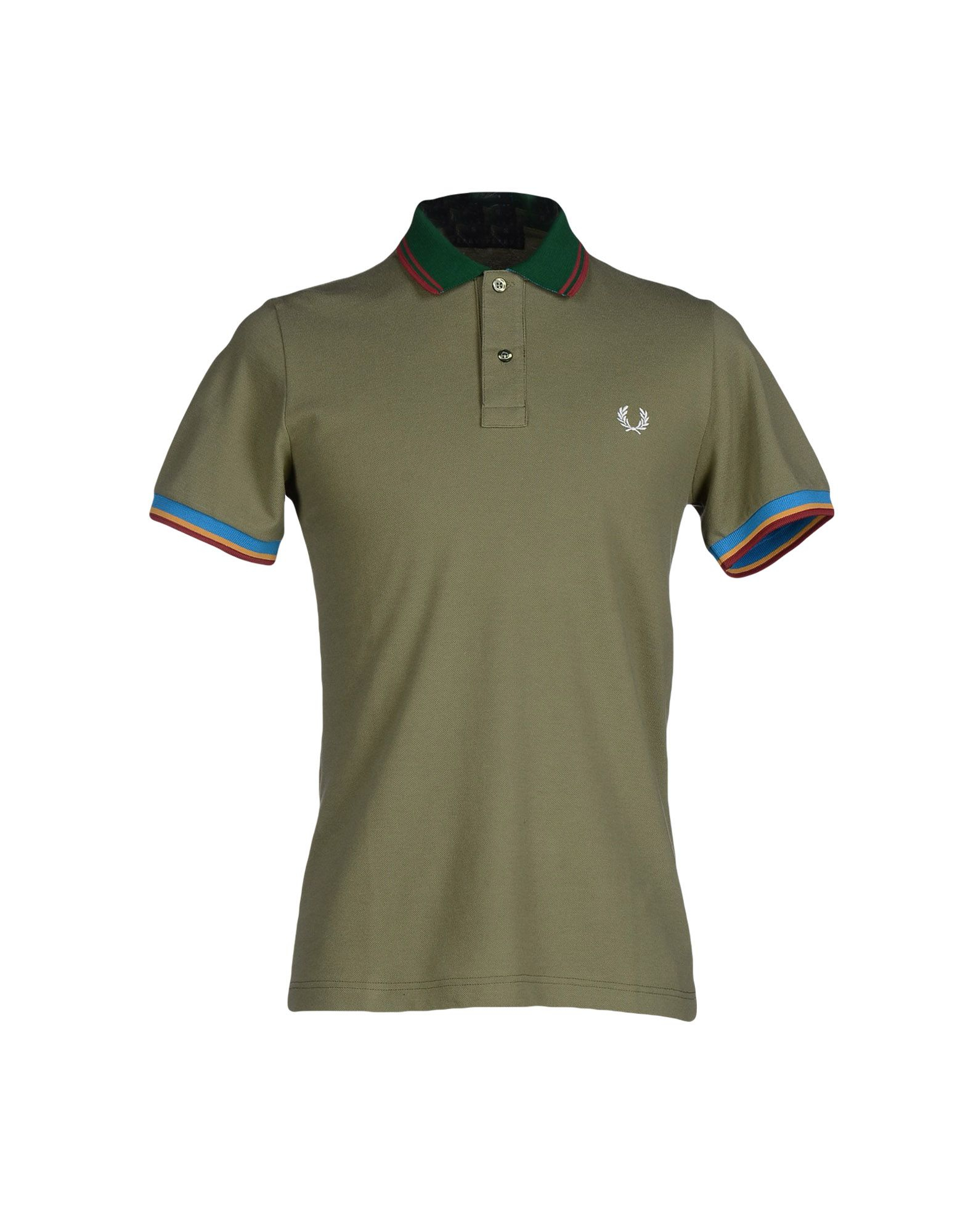 lyst fred perry polo shirt in green for men. Black Bedroom Furniture Sets. Home Design Ideas