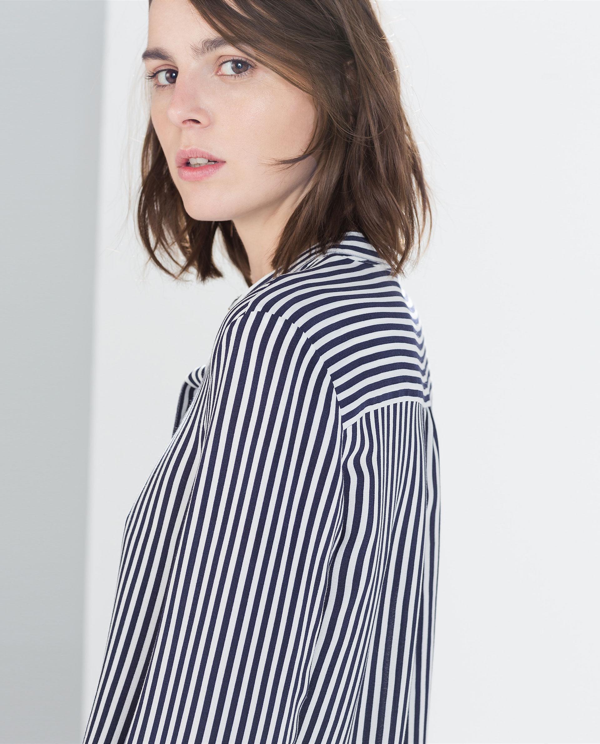 Zara Long Sleeved Blouse 6