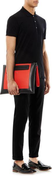 Leather Document Holder For Men Leather Document Holder in