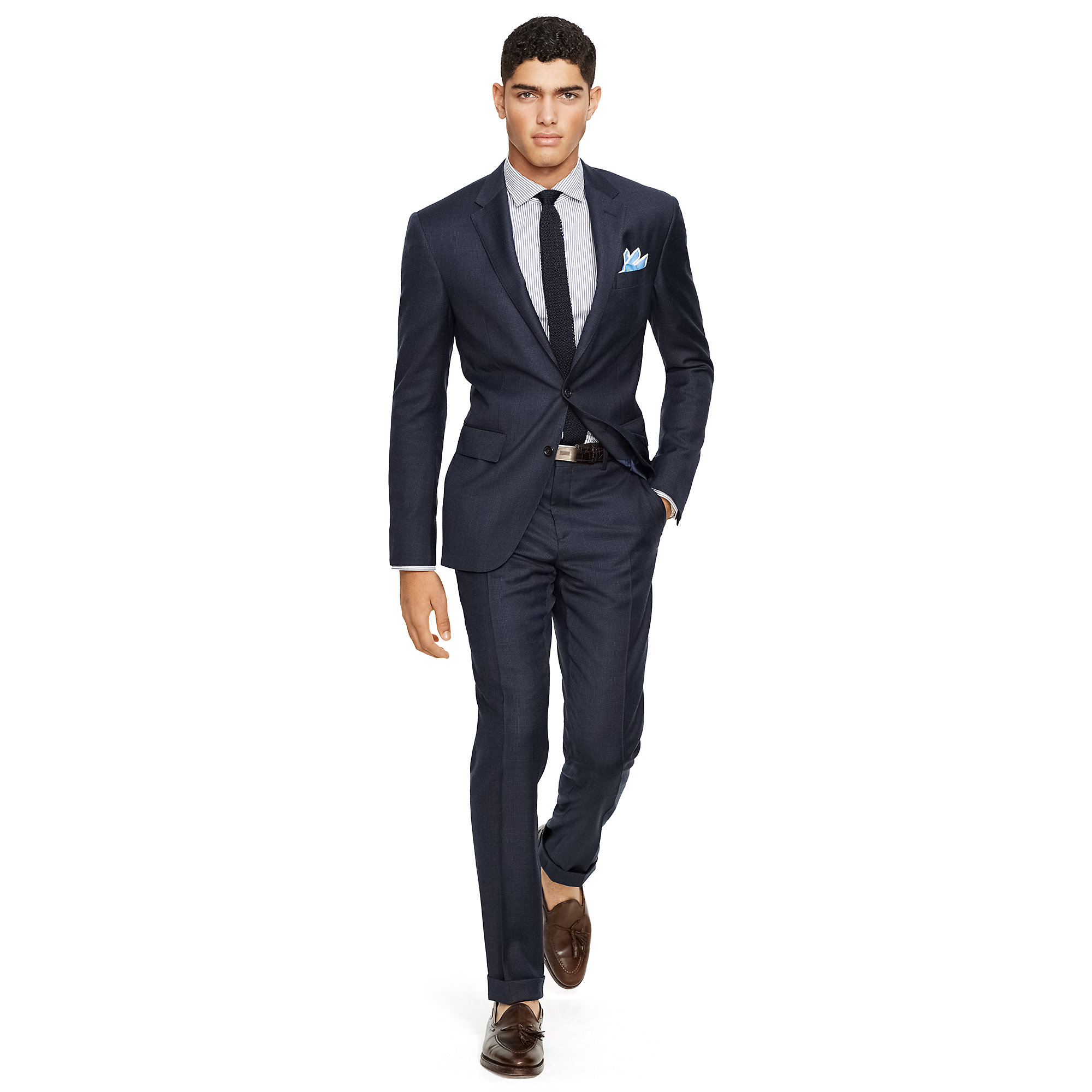 Polo ralph lauren Polo Glen Plaid Wool Suit in Blue for ...