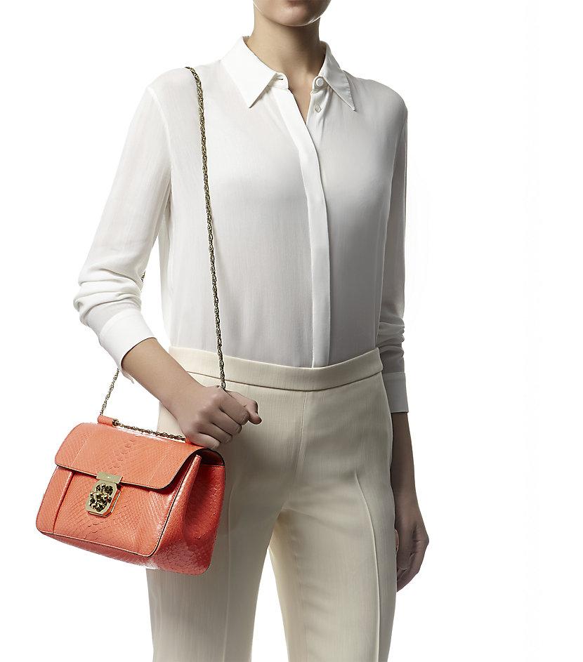 chloe imitation - chloe metallic python shoulder bag, chloe handbags shop online