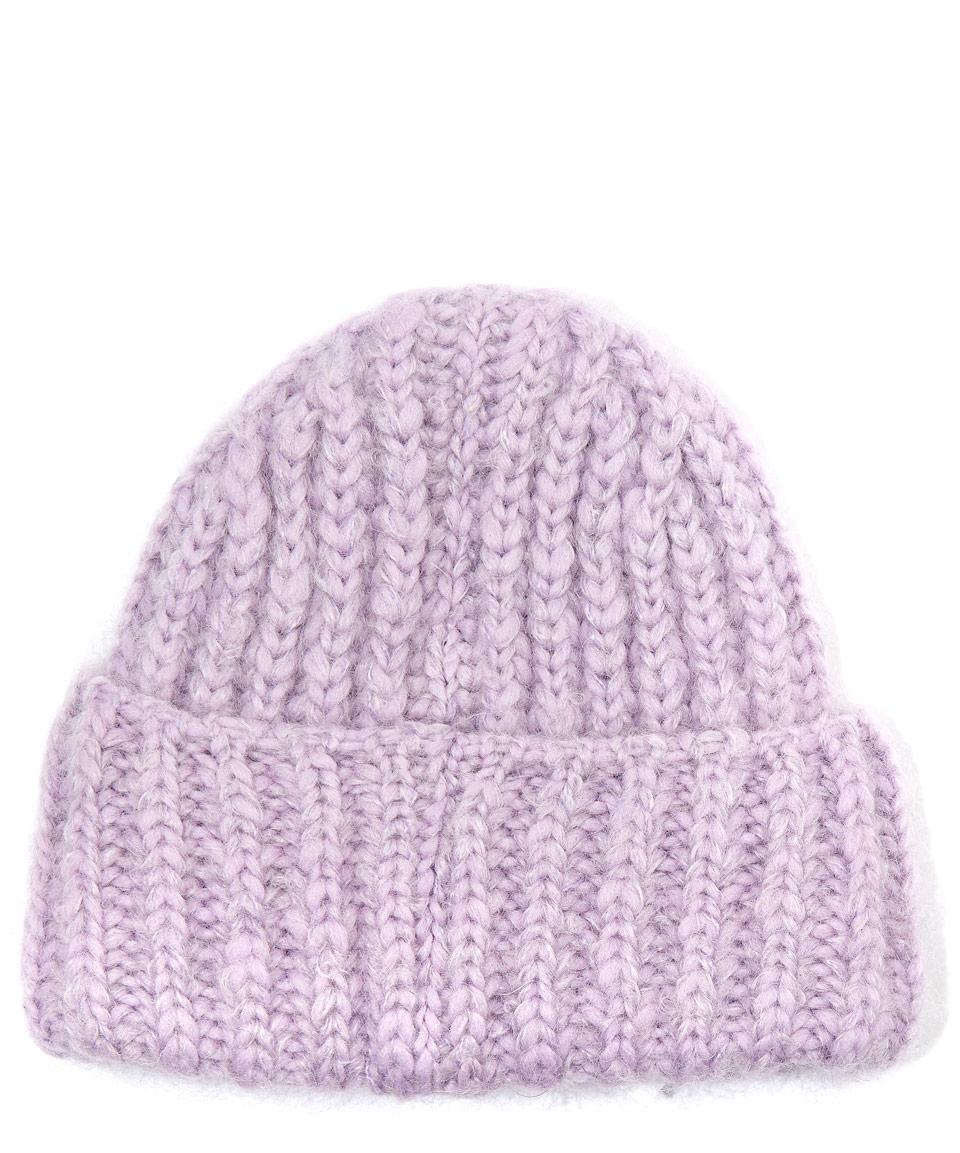 3398e6666dda Acne studios Lilac Bay Chunky Wool-blend Knit Hat in .