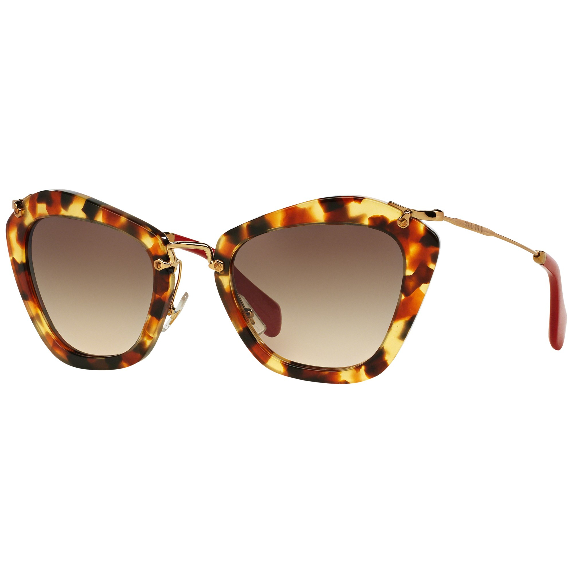 9094a1f35911 Miu Miu Mu10ns Cat s Eye Sunglasses - Lyst