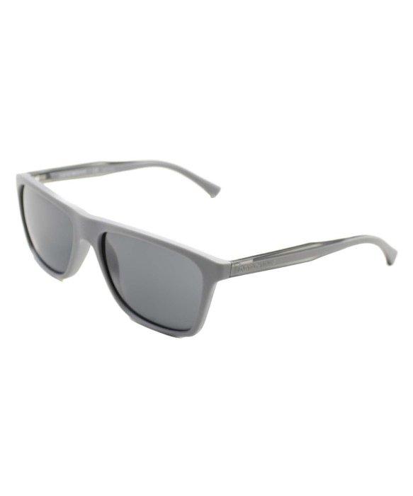 8913e83f1a49 Emporio Armani Ea 4001 514187 Matte Grey Sunglasses Grey Lens in ...