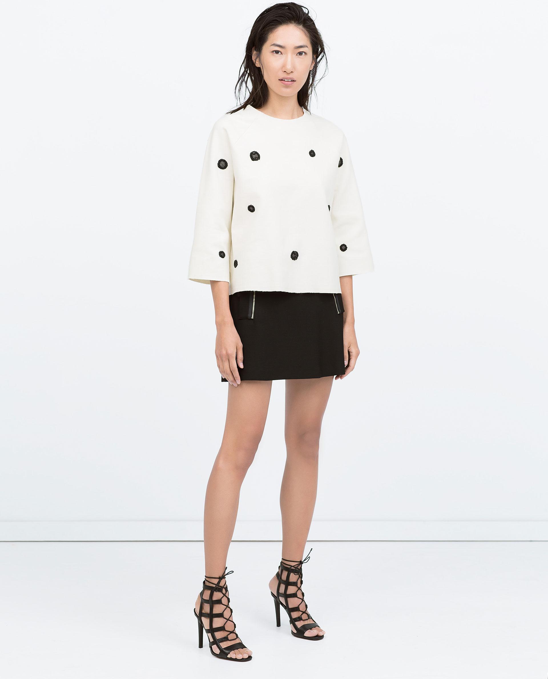 A Line Short Skirt