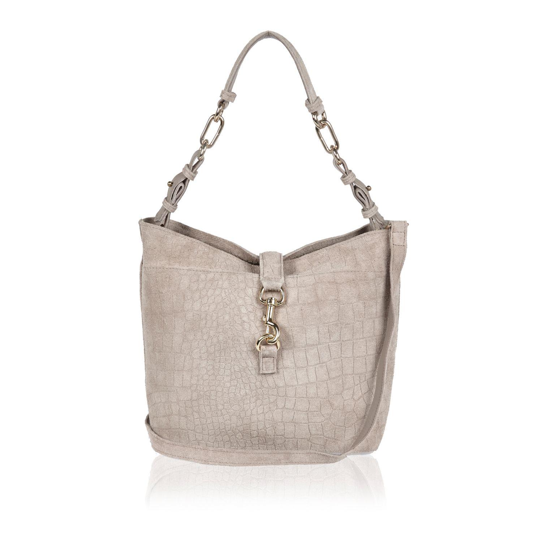 River Island Grey Bucket Bag