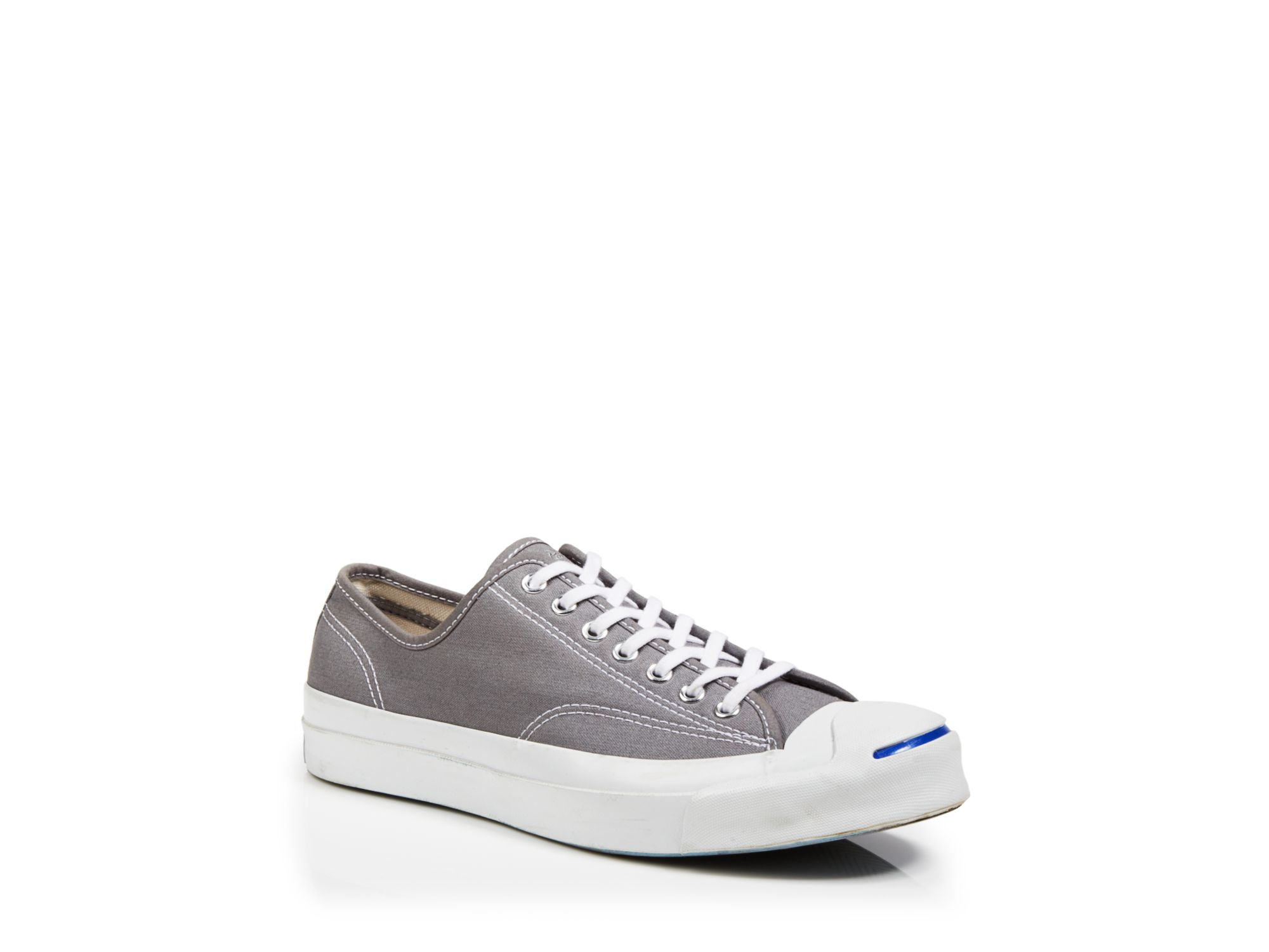 fd3cab62079 Lyst - Converse Jack Purcell Signature Canvas Sneakers in Gray for Men