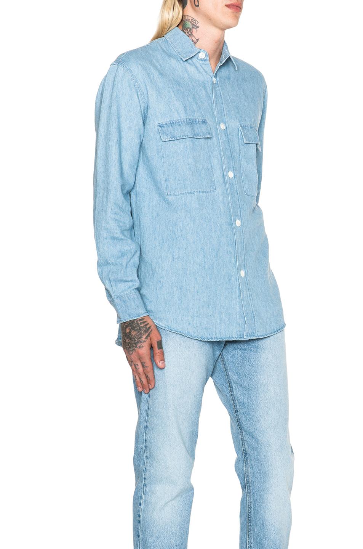 denim shirt pockets - photo #9