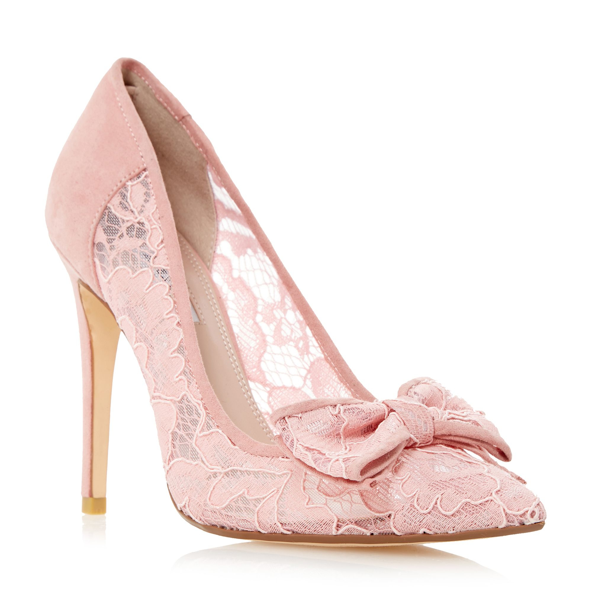 blush pink high heels is heel