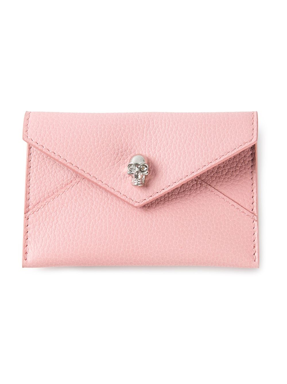 skull cardholder - Pink & Purple Alexander McQueen g5Ba0f