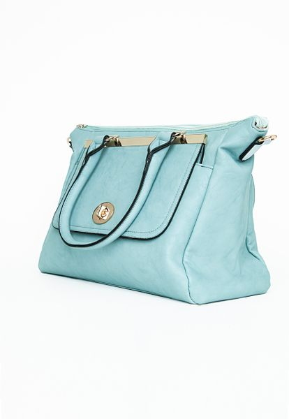 Blue Over The Shoulder Bag 55