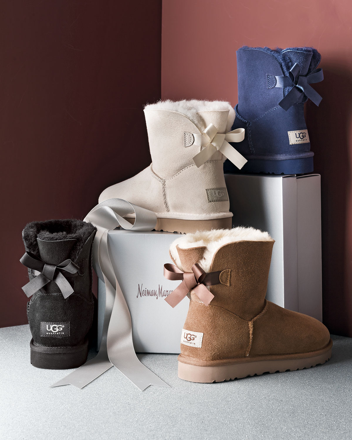 9ce64fff50b Ugg Boots Mini Bailey Bow Beige - cheap watches mgc-gas.com