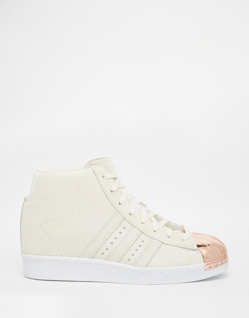 Adidas Superstar Trainers Rose Gold